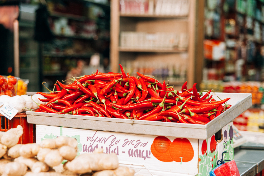 Fruits and vegetables good for the lungs-Keephumanity  research-chili peppers
