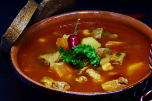 Fennel seeds, beef soup with red peppers and tomato- Freemont recipe-Keephumanity research