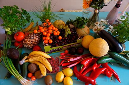 Fruits and vegetables good for the lungs-Keephumanity research