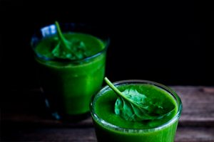 Kale juice with apple, carrot, and celery- Fresno organic farm-Keephumanity research